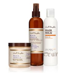 Kids with Naturally Curly HairMakes Styling Your Child's Naturally Curly Hair Easy   •This Set Contains:  •Hair Milk Original Leave-In Moisturizer, 8.0 fl oz  •Black Vanilla Moisturizing Smoothie, 8.0 oz  •Black Vanilla Moisturizing Leave-In Conditioner, 8.0 oz