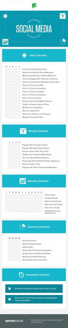 """The Only Social Media Checklist You'll Ever Need <a class=""""pintag searchlink"""" data-query=""""%23SMM"""" data-type=""""hashtag"""" href=""""/search/?q=%23SMM&rs=hashtag"""" rel=""""nofollow"""" title=""""#SMM search Pinterest"""">#SMM</a> <a class=""""pintag searchlink"""" data-query=""""%23socialmedia"""" data-type=""""hashtag"""" href=""""/search/?q=%23socialmedia&rs=hashtag"""" rel=""""nofollow"""" title=""""#socialmedia search Pinterest"""">#socialmedia</a> <a class=""""pintag searchlink"""" data-query=""""%23marketing"""" data-type=""""hashtag"""" href=""""/search/?q=%23marketing&rs=hashtag"""" rel=""""nofollow"""" title=""""#marketing search Pinterest"""">#marketing</a>"""