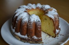Bunt Cakes, Nutella, French Toast, Food And Drink, Cooking Recipes, Pie, Sweets, Bread, Baking