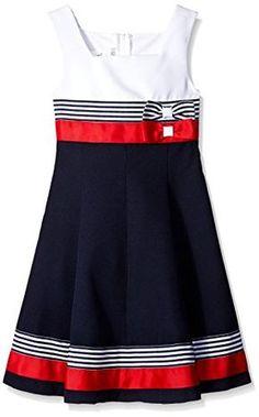 Bonnie Jean Big Girls Colorblock Poplin Dress, Navy, 12 Bonnie Jean http://www.amazon.com/dp/B0186QHZES/ref=cm_sw_r_pi_dp_0Kxexb004HJFT