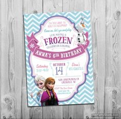 Free printable birthday party invitations free printable birthday free printable birthday party invitations free printable birthday invitation pinterest party invitations birthdays and frozen party filmwisefo