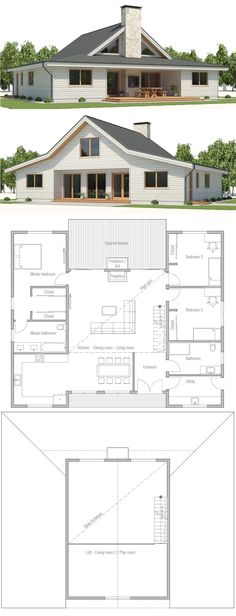 Small 4 bedroom house plans free home future students current house plan 2018 malvernweather Images