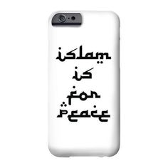 ISLAM IS FOR PEACE - iPhone 4 4S  5S 5C 6 6 Plus Case