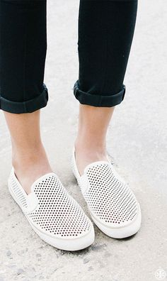 Perforated Sneakers - Summer Sneaker Trend