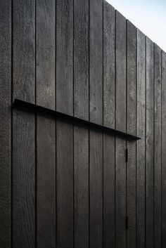 Image result for black stained larch cladding