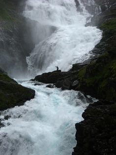 Kjosfossen, Flåmsbana, Norway
