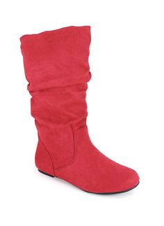 slouchy suede boot $10.95...I would so buy these except they don't have my size:( Seriously would pay $11!