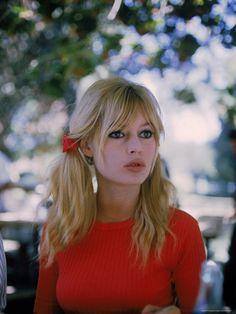"Actress Brigitte Bardot on Location During Filming of Movie ""Viva Maria"" by Ralph Crane"