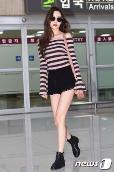 #wondergirls, #sunmi, #airport, #fashion
