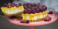 Mango Ripple Cheesecake | youcanbakethis.com
