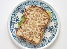 Minale Maeda, Delfts toast pan and plate (2006)