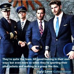 The pilots of Ugly Love!