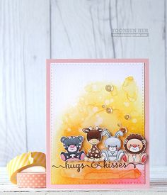 Clearly Besotted | Yoonsun Hur (on ims for setup of other critter stamps in my…