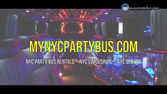 Planning to throw a surprise birthday party for mynycpartybus.