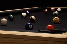 Table de billard convertible par James Perse | Baxtton