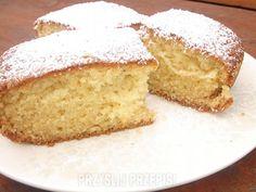 Szybkie i łatwe ciasto jogurtowe - PrzyslijPrzepis.pl Cornbread, Vanilla Cake, Sweet Tooth, Cooking, Ethnic Recipes, Polish, Food, Millet Bread, Vanilla Sponge Cake
