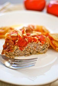 'Pastel de cordero piñones' receta de Pepekitchen para el blog 'A tu Gusto' de superSol. La mejor gastronomía :)