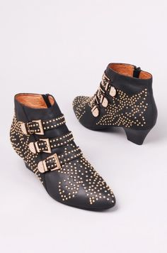 Jeffrey Campbell Starburst Leather Ankle Boots, found at ShopAKIRA.com