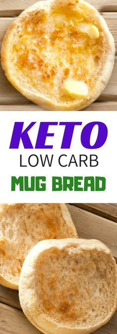 A quick an easy bread to make that is keto and low carb friendly Ingredients Low carb flour alternative Carbalose- 2 tablespoons . OR 1 tablespoon of coconut flour plus 1 tablespoon of almond flour Lindas Low Carb Recipes, Low Carb Vegetarian Recipes, Fodmap Recipes, Keto Recipes, Bread Recipes, Chicken Recipes, Healthy Chicken, Vegetarian Casserole, Vegan Keto