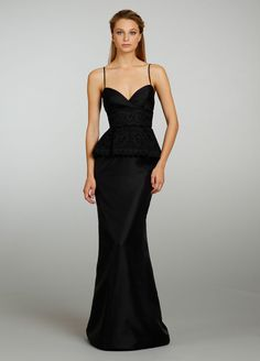 Noir By Lazaro Bridesmaids and Special Occasion Dresses Style NZ3336 by JLM Couture, Inc. LOVE! Silver or soft grey. <3