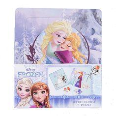 Set de colorat cu puzzle Frozen FRZ-XP06 Puzzles, Frozen, Princess Zelda, Disney, Fictional Characters, Art, Character, Art Background, Puzzle