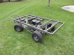 military mule half scale home build - Page 3 - DIY Go Kart Forum Mini Jeep, Mini Bike, Go Kart Kits, Cool Things To Build, Homemade Go Kart, Go Kart Plans, Diy Go Kart, Small Tractors, Go Car