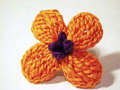Ravelry: English Wallflower Crochet Pattern pattern by Camelia Shanahan... Free pattern!