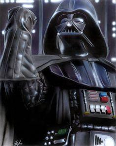 Awesome Darth Vader Illustrations