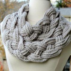 Braided Cowl - Free Crochet Pattern
