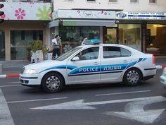 Israelian Police car - Skoda Octavia