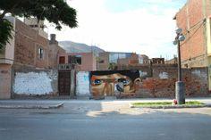 Artist : JADE. Place : Lima, Peru. #streeart, #graffiti, #urban.
