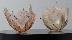 Contemporary Basketry: Leaves