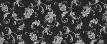 Elegance, Liquorice - Curtain Fabric