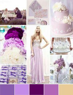 Lavender inspiration board