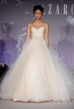 This has to be the most popular gown I have seen in the last few years, and of course it is a Lazaro