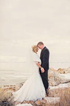 Amazing... Winter Bridal Shoot by Stephanie Sunderland