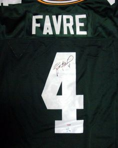 0f2958987 Brett Favre Autographed Hand Signed Mitchell   Ness GB Packers Jersey  PSA DNA - of fame memorabilia deal ads. Riannon Lopez · Green Bay packers