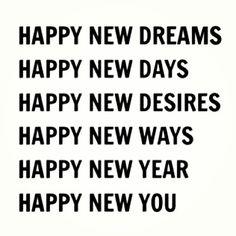 Happy New #dreams #days #desires #ways #year #you #2014 Please make sure to follow me on Instagram @ashleesarajones