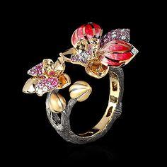 Кольцо Orchid - купить в Mousson Atelier