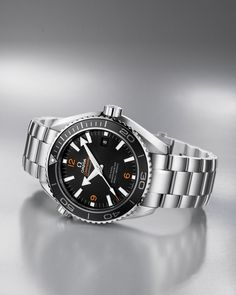 OMEGA Watches: Seamaster Planet Ocean 600 M Omega Co-Axial 45.5 mm - Steel on steel - 232.30.46.21.01.003