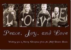 Christmas Card Idea next year