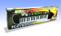 37 Keys Electronic Keyboard - MIC Included for Kids High Hat, Kids Laughing, Sound Effects, Percussion, Musical Instruments, Keyboard, Gifts For Kids, Musicals, Learning