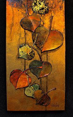 Autumn Elegy_detail 1 by Carol Nelson  ~  x