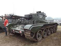 Cromwell tank at War and Peace Revival 2014