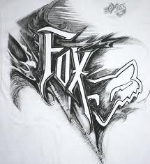 3D Logo Fox Racing Wallpaper   Mtb   Pinterest