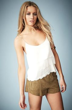 Kate Moss for Topshop Scalloped Camisole (Online Only) @Nordstrom