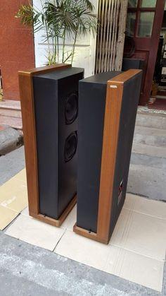 Horn Speakers, Audio Speakers, Audio Design, Loudspeaker, Audiophile, Diy Ideas, Vintage, Columns, Speaker Stands