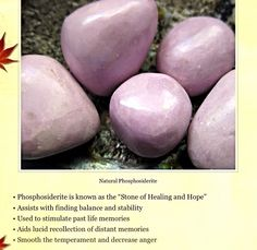 Phosphosiderite  healing properties