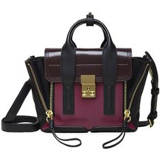 3.1 Phillip Lim Pashli Mini Satchel found on Polyvore