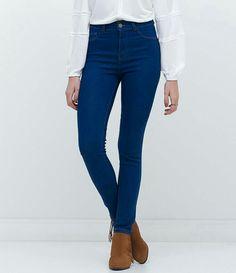 a6e4f1cf0 Skinny Jeans Escuro, Calça Skinny Azul, Calça Jeans Escura Feminina, Calsa  Jeans Feminina